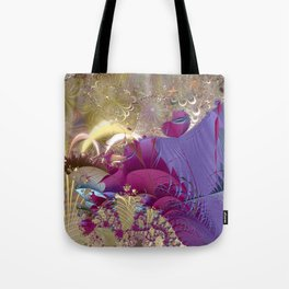 Feelings of being in love -- Fractal illustration Tote Bag