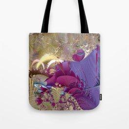 Feelings of being in love -- Fractal illustration Tote Bag