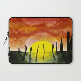 NEOLITHIC OTHERWORLDS Laptop Sleeve