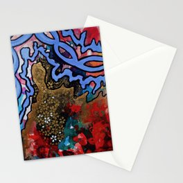 Wilder Borders: A Slippery Hold Stationery Cards