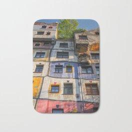 Hundertwasserhaus Vienne Autriche 3 Bath Mat