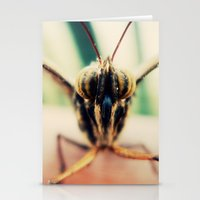 moth Stationery Cards featuring moth by Sookie Endo