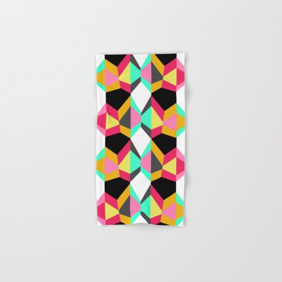 Geometric#18 Hand & Bath Towel