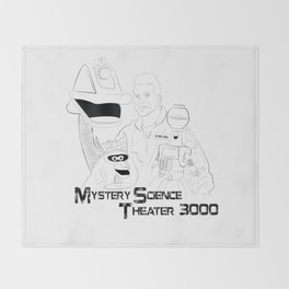 Mystery Science Theater 3000 Throw Blanket