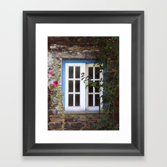 Almost open Framed Art Print