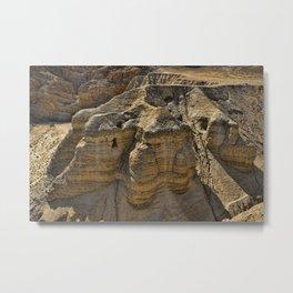 Qumran Cave 4 Metal Print