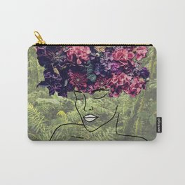 Flores Salvajes (Wild Flowers) Carry-All Pouch