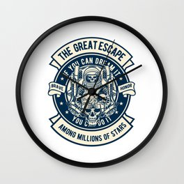 The Space Escape Wall Clock