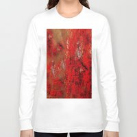 earth Long Sleeve T-shirts featuring Earth by Saundra Myles