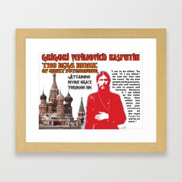 Mad Monk Framed Art Print