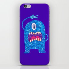 Peace Monster iPhone Skin