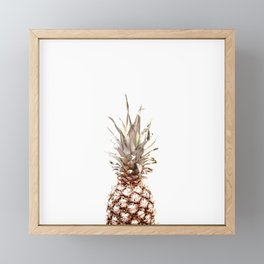 pineapple Framed Mini Art Print