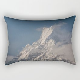Fishtail Mountain Rectangular Pillow