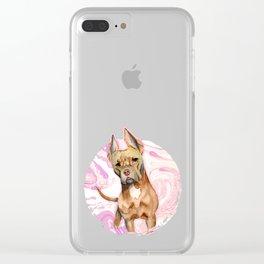 Bunny Ears 3 Clear iPhone Case