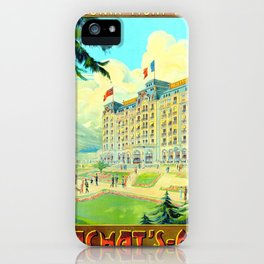 Chamonix-Mont-Blanc - Cachat's Majestic iPhone Case
