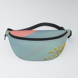 Sky and flowers Fanny Pack