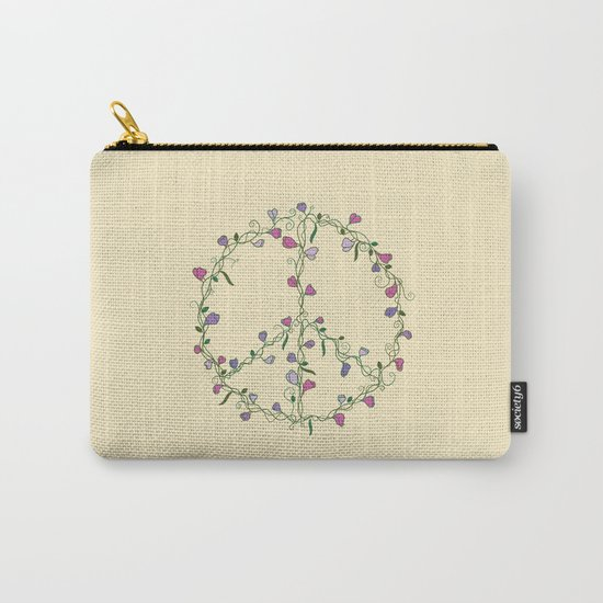 Sweet Peace Carry-All Pouch