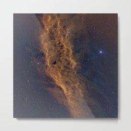 California Nebula Metal Print