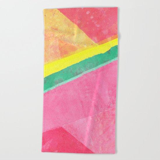 Twisted Melon Beach Towel