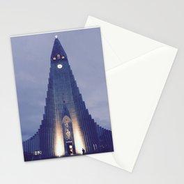 Hallgrímskirkja church Stationery Cards