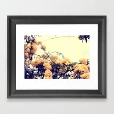 Yellow Flowers Framed Art Print
