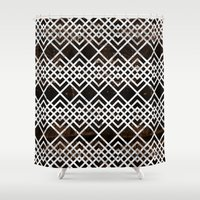 boho Shower Curtains featuring Boho by Grace