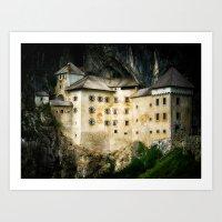 castle Art Prints featuring Castle by DistinctyDesign