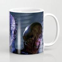 saga Mugs featuring Hellraiser Saga by Saint Genesis