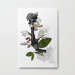 A girl, fatal beauty Metal Print