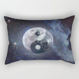 Yin Yang Moon Rectangular Pillow