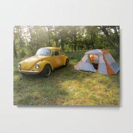 Outdoorsy Bug Metal Print
