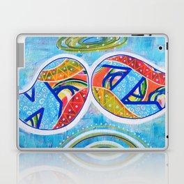 Modern Day Angelic Joy: Inner Power Painting Laptop & iPad Skin