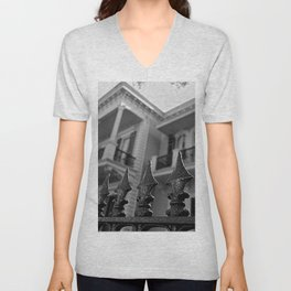 The Fence of the House Unisex V-Neck