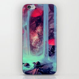 Protect me from what I want iPhone Skin
