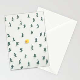 Unidentified Yellow Object Stationery Cards