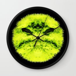 bad smiley Wall Clock