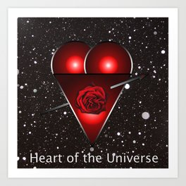Heart of the Universe Art Print