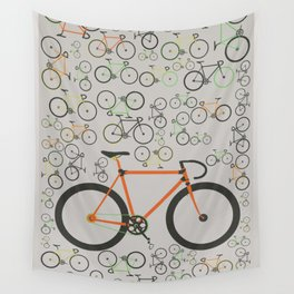 Fixed gear bikes Wall Tapestry