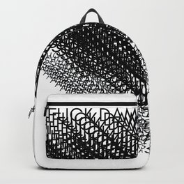 Curse Word Chaos 1.1 Backpack
