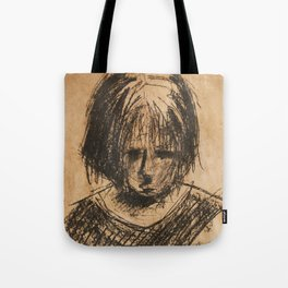 sad girl Tote Bag