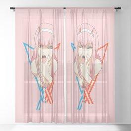 ZeroTwo Sheer Curtain