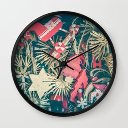 Santa Claus 4 Wall Clock