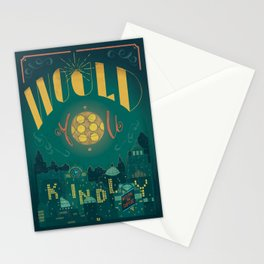 Would You Kindly (Bioshock) Stationery Cards