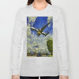 Airliner Van Gogh Long Sleeve T-shirt