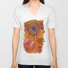 Dream Catcher Unisex V-Neck