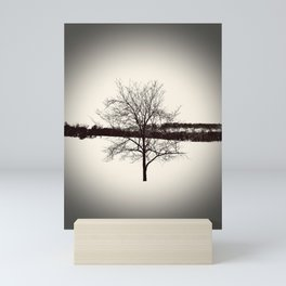 Deciduous Tree Mid-Winter Mini Art Print