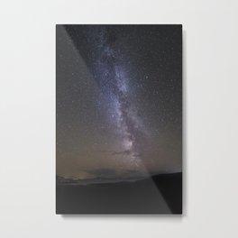The Milky Way Over Applecross and Skye Metal Print