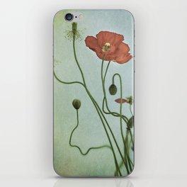 Poppy Dance II iPhone Skin