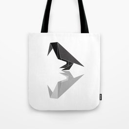 """Collection """"Origami"""" impression """"Raven Paper"""" Tote Bag"""