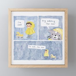 For Now Framed Mini Art Print